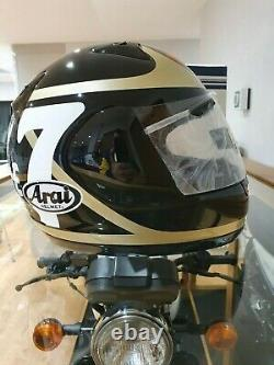 Vintage motorcycle crash helmet Barry sheene