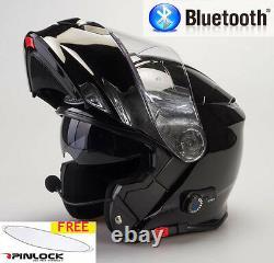 Viper Rs-v171 Bluetooth Intercom Flip Front Bike Motorbike Motorcycle Helmet