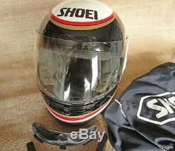 Wayne Rainey Grv Replica Race Helmet Shoei Size 53cm Plus Extras