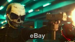 White Skull Custom Painted Airbrushed Motorcycle Helmet Bad Boys for Life Movie