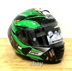 X 14 Motorcycle Full Face Helmet Kawasaki ZX10R Moto GP Motorbike Racing Helmet