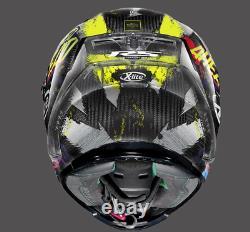 X-Lite X-803 RS Ultra Carbon HOLESHOT 34 Motorcycle Motorbike Helmet +DARK VISOR