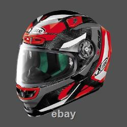 X-Lite X-803 Ultra Carbon MASTERY 42 Black/Red Carbon Race Motorcycle Helmet