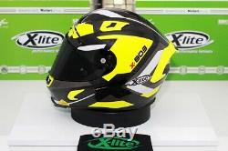 X-Lite X-803 Ultra Carbon MASTERY Flouro/ Carbon Race Motorcycle Helmet