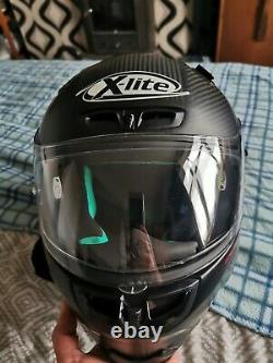 X-Lite X-803 Ultra Carbon Puro Race Motorcycle Helmet Ideal for Track use