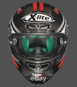 X-Lite X-803 Ultra Carbon SBK Race Motorcycle Helmet 017 ZE