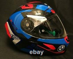 X-Lite X803 CARBON MASTERY & BMW Stickers FREE Dark Visor Motorbike Helmet