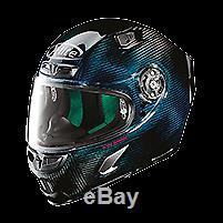 X-lite Xlite X-803 Ultra Carbon Nuance Blue Motorcycle Helmet Size Large