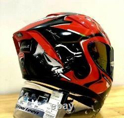 X14 Motorcycle Full Face Helmet Ducati V4 Red Marquez 93 Motorbike MotoGP Helmet