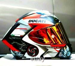 X14 X-Spirit 3 Motorcycle Full Face Helmet Ducat i V4 S Marquez Moto GP Helmet