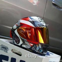 X14 X-Spirit 3 Motorcycle Full Face Helmet Ducati V4 Marc Marquez Moto GP Racing