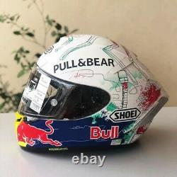 X14 X-Spirit 3 Motorcycle Full Face Helmet Marc Marquez Red Bull Moto GP Racing
